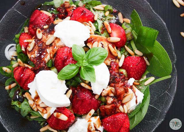 Erdbeer-Sommer Salat #summerspecial