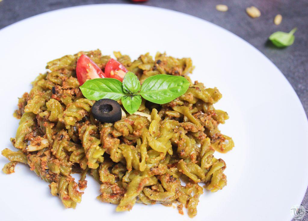Pesto Rosso, vegan, glutenfrei