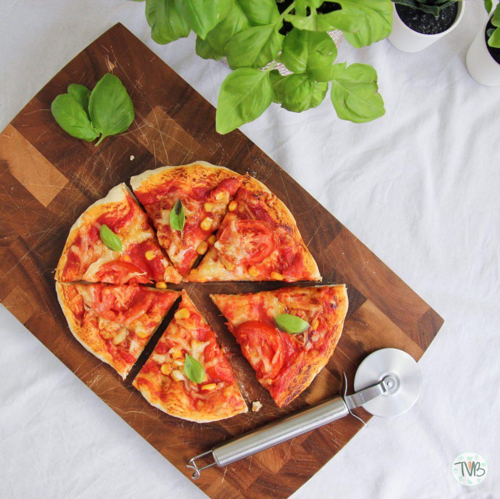 Veggie Pizza aus dem Airfryer