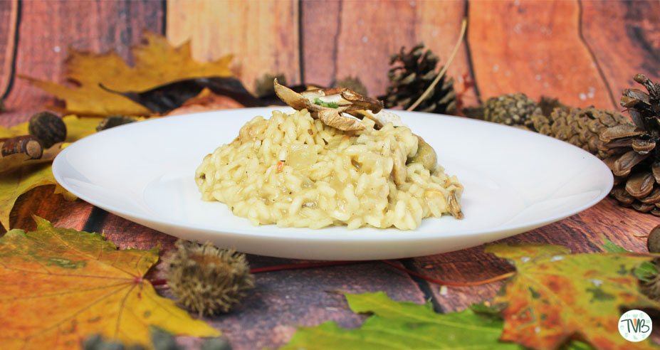 Steinpilzrisotto #Bloggerevent