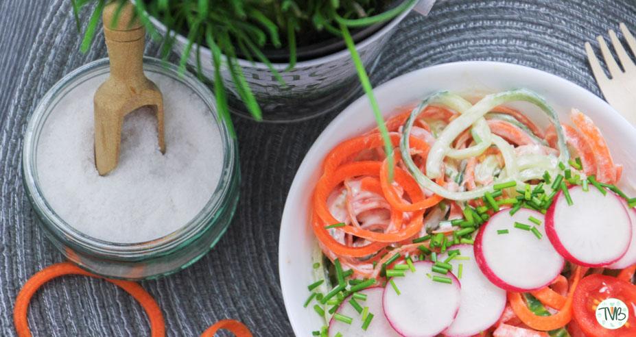 Gemüse-Nudel-Salat #vegan