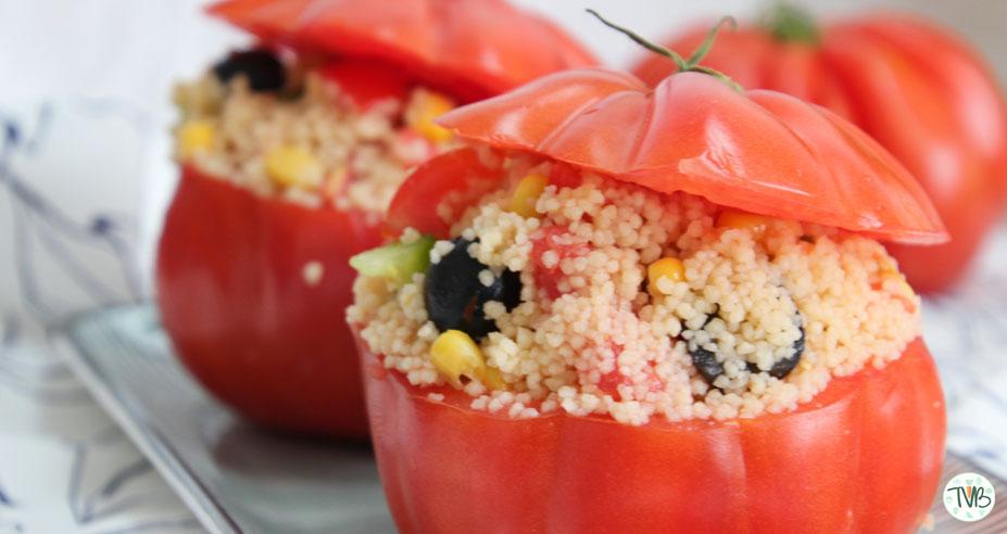 Couscous Paradeiser Salat #vegan