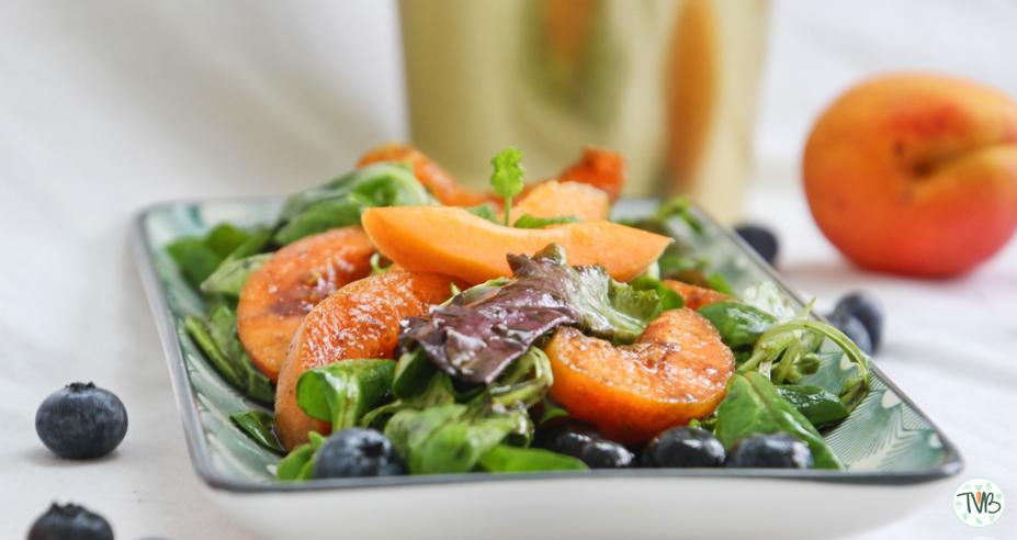 Fruchtig frischer Sommersalat #vegan