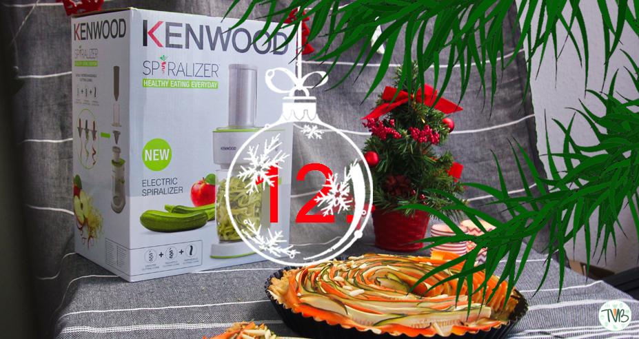 [Werbung] Türchen 12 |Spiral-Gemüse Quiche | Gewinnspiel | KENWOOD #BloggerAdventkalenderAT
