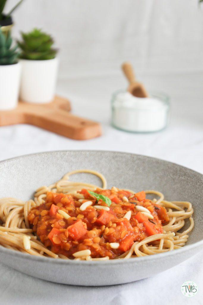 vegane Spaghetti