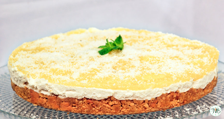 Summerdream Cheesecake | veganer Käsekuchen mit Ananas