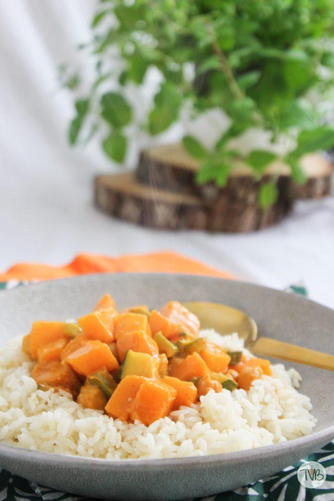 Herbstliches Curry vegan