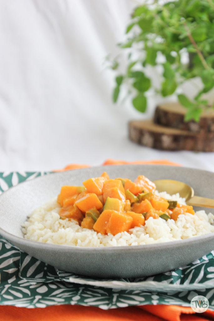 Veganes Herbst Curry