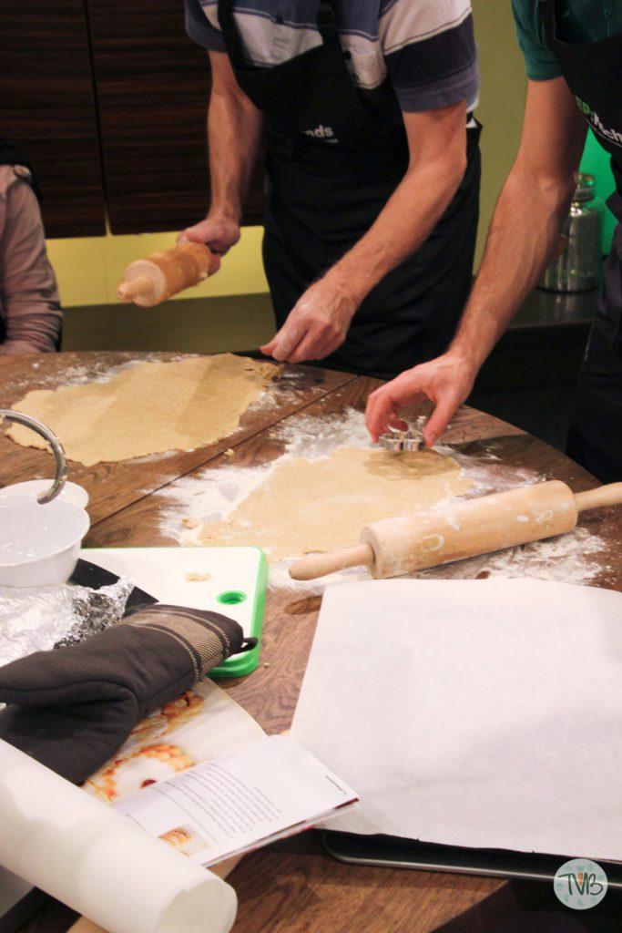 EP Austria veganer Keksback Workshop Mürbteig Kekse