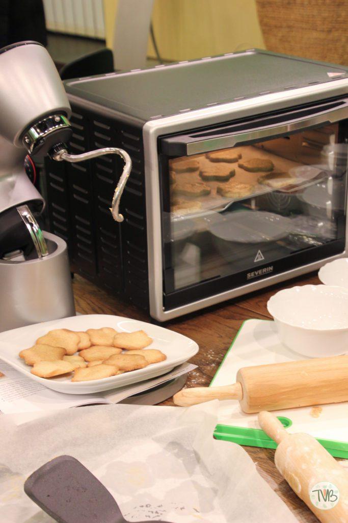 EP Austria veganer Keksback Workshop Kekse im Ofen