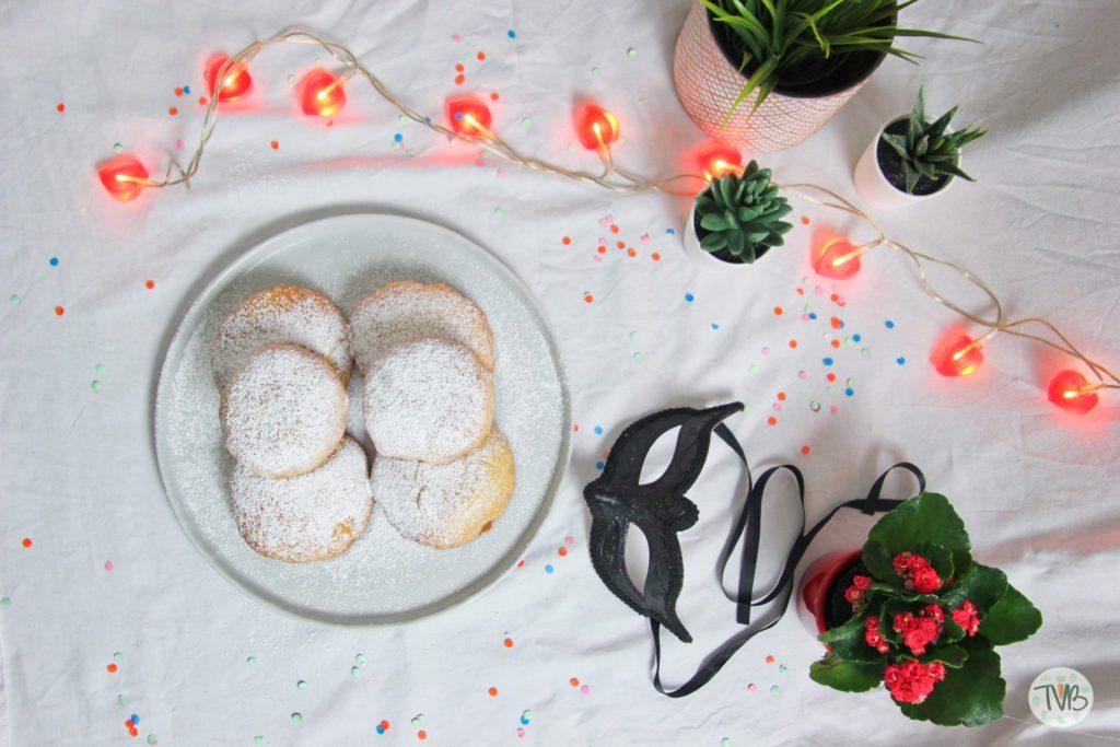 Vegane Krapfen, marillen Marmelade aus Philips Airfryer, Faschingskrapfen