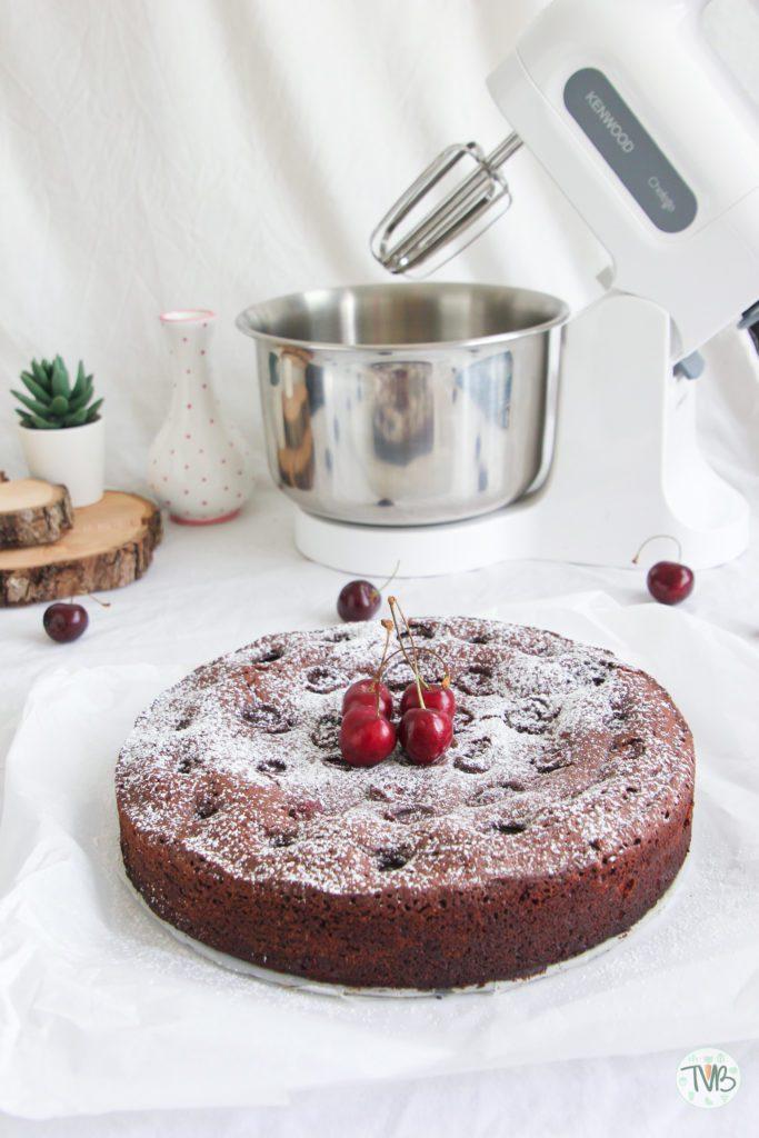 Kirsch Brownies vegan, pflanzlich, ohne Ei, schnell, einfach, saftlich, lecker