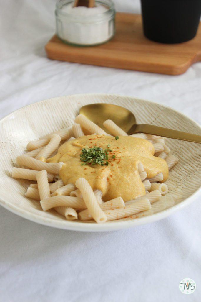 Mac and cheese vegan Cashew, tapioka stärke, rein pflanzlich
