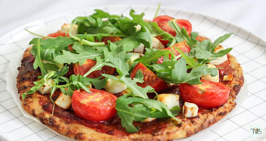 Vegane Karfiol Pizza alla Tschaakii