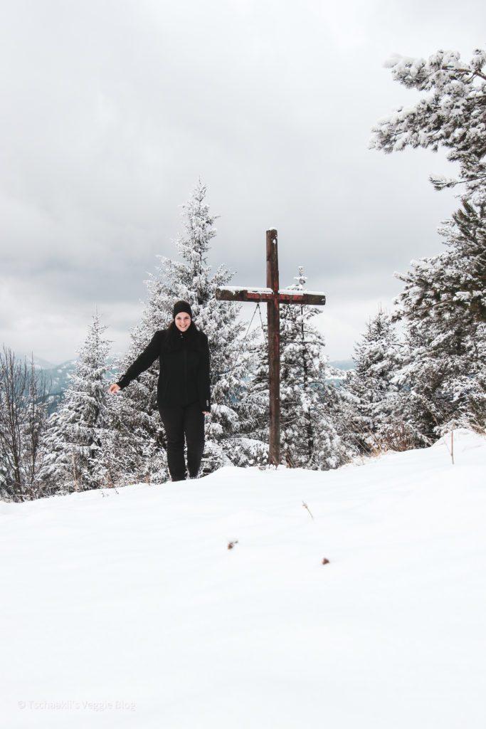 Enzianhütte, Kieneck, Gipfelkreuz